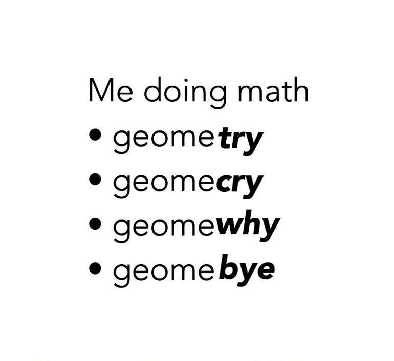 funny, geometry, lol, math, school