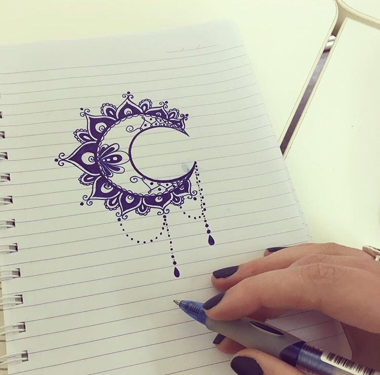 art, design, drawing, flower, mandala