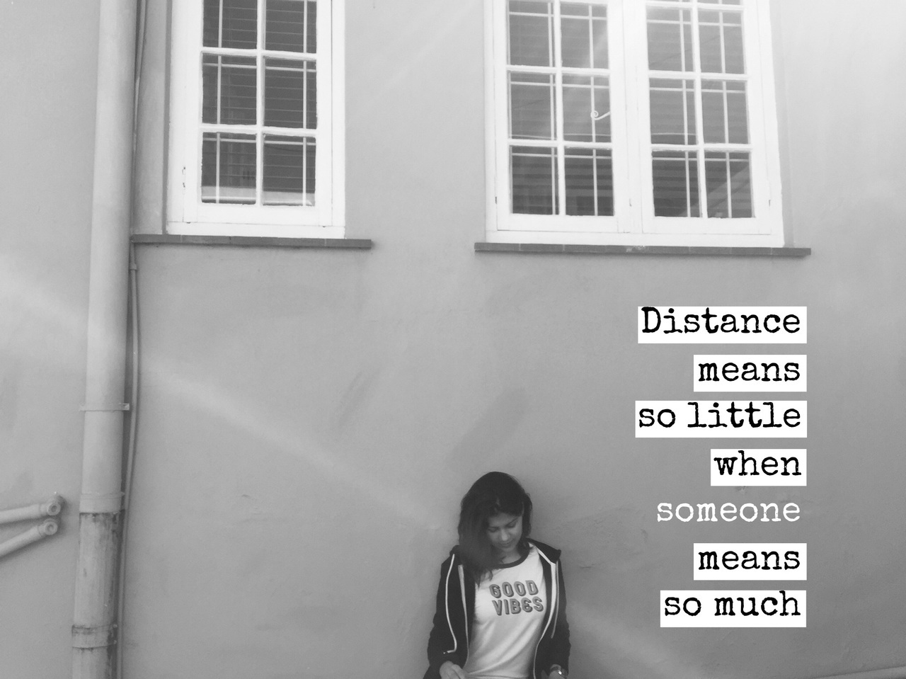 distance, easel, font, love, quotes