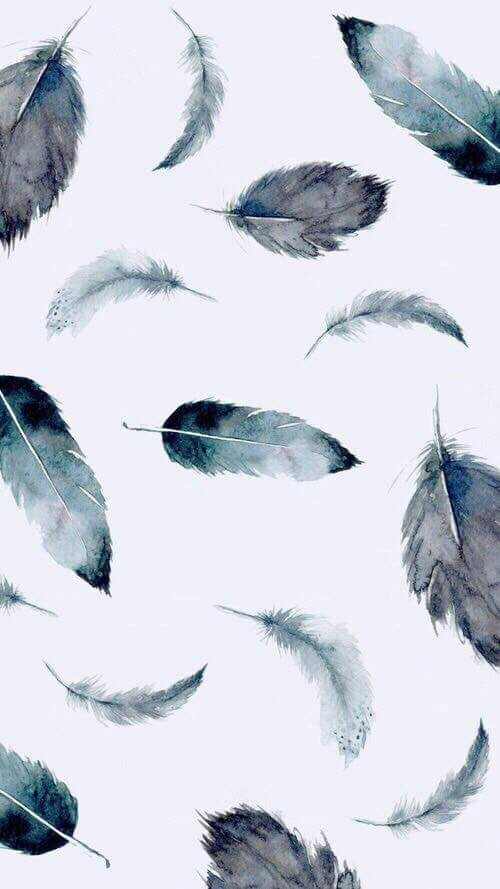 art, background, feathers, iphone, wallpaper