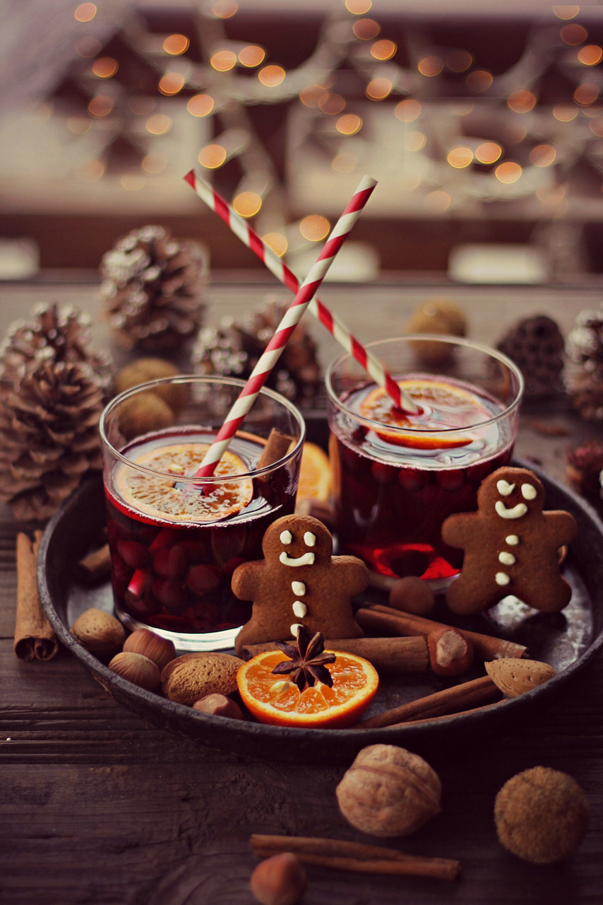christmas, cookies, food, ginger, winter