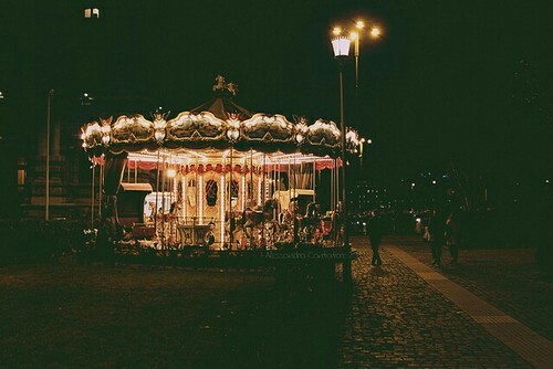 aesthetic, alternative, carousel, childhood, cute