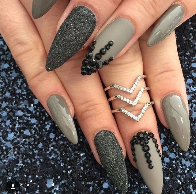 3d nails, accessories, beauty, bling, cosmetics