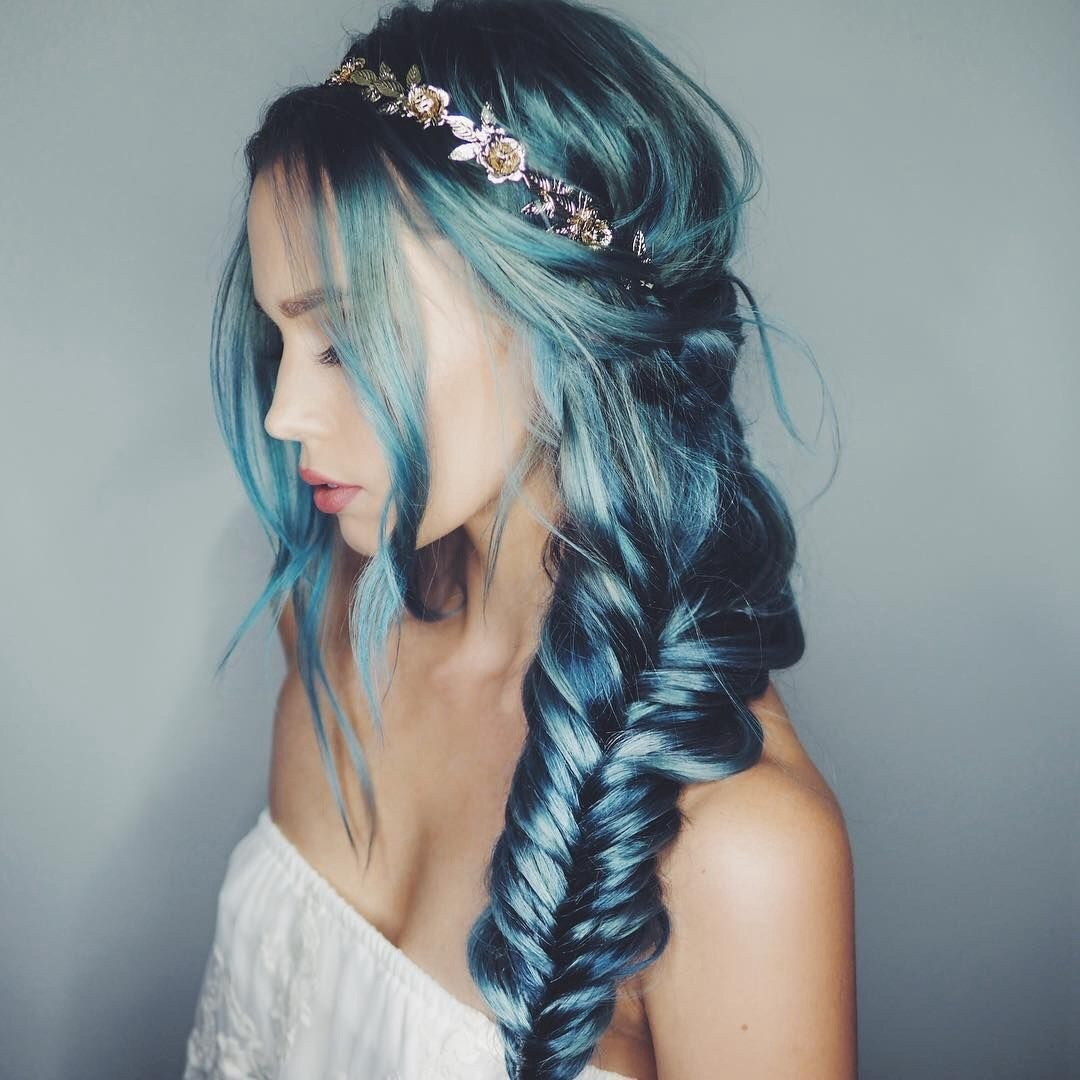 accessories, blue, braid, braided, braids