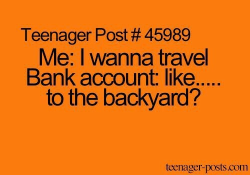 account, bank, funny, post, relatable