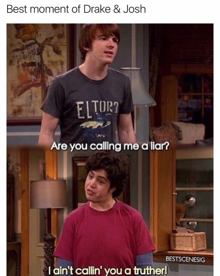 brothers, cool, drake and josh, funny, liar