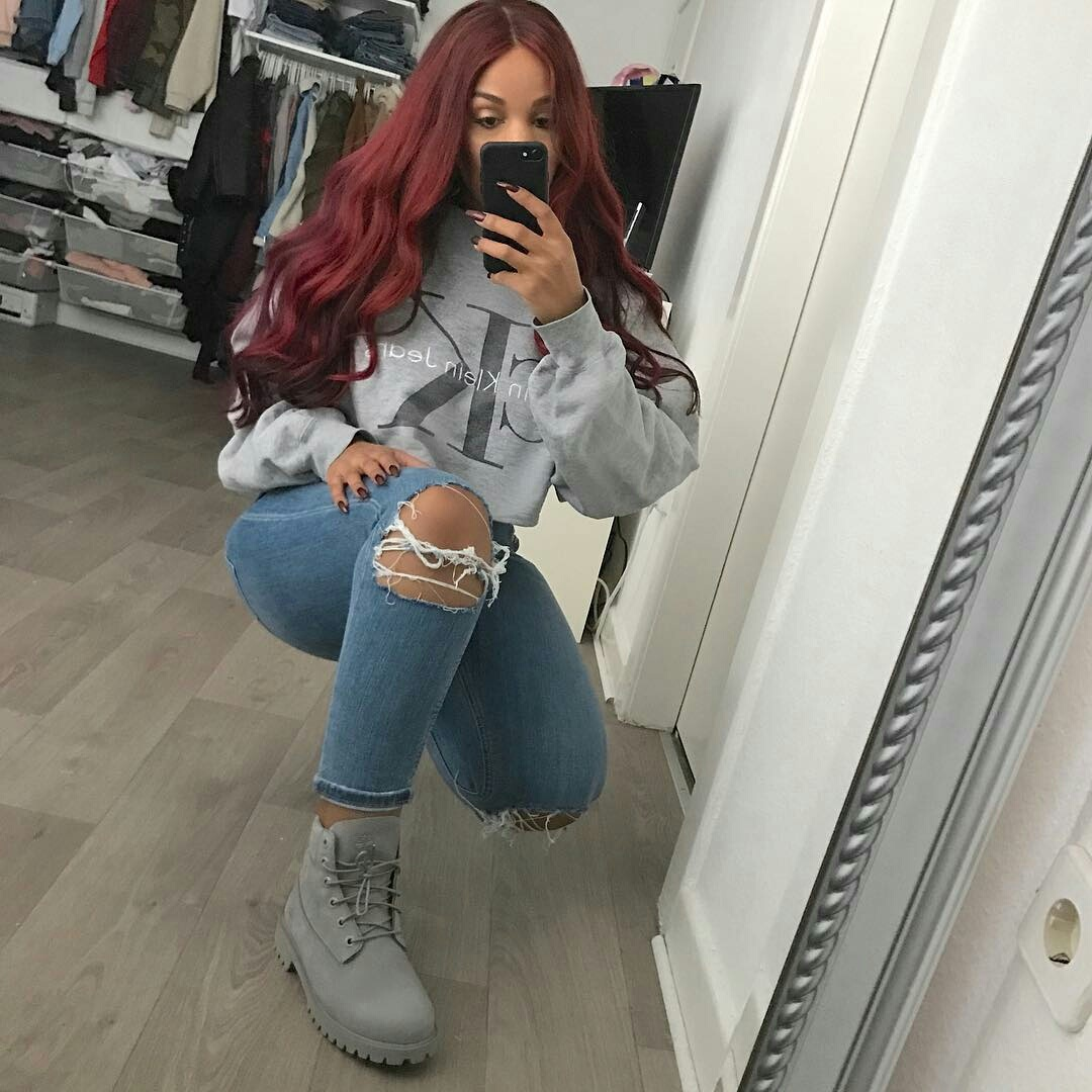 blouse, mirror, outfit, timberland, calvinklein
