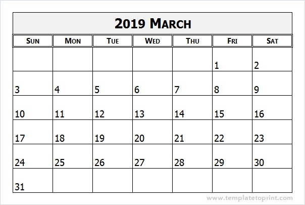 march, 2019, March Calendar and March 2019