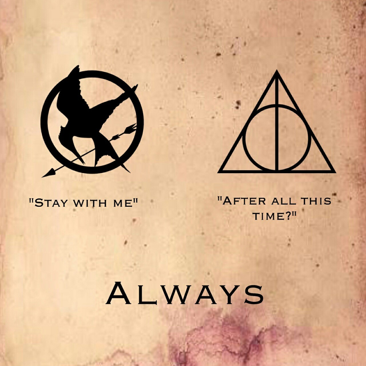 always, harry potter and the hunger games