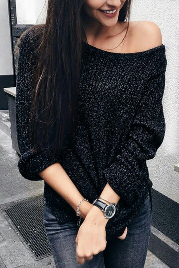 black, chic, closet, clothes, fashion