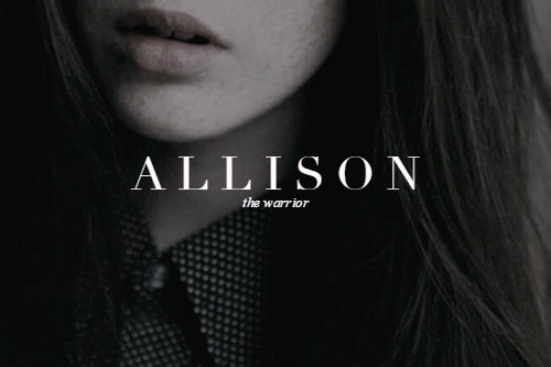 allison, series, teen wolf, warrior, name meaning