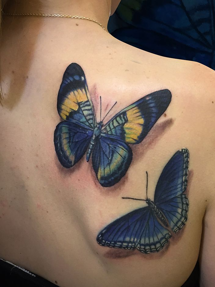 butterfly, butterfly tattoo and tattoo