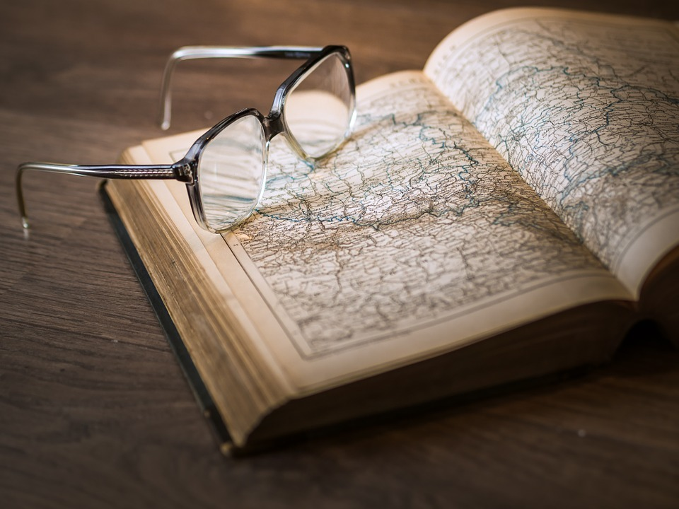 book, map, old, photo, vintage