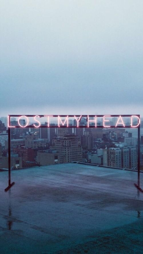 head, in, lost, my