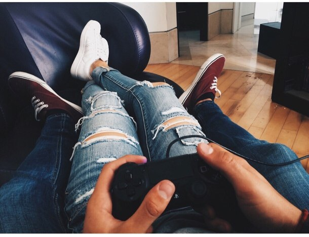 bae, console, couple, cute, game
