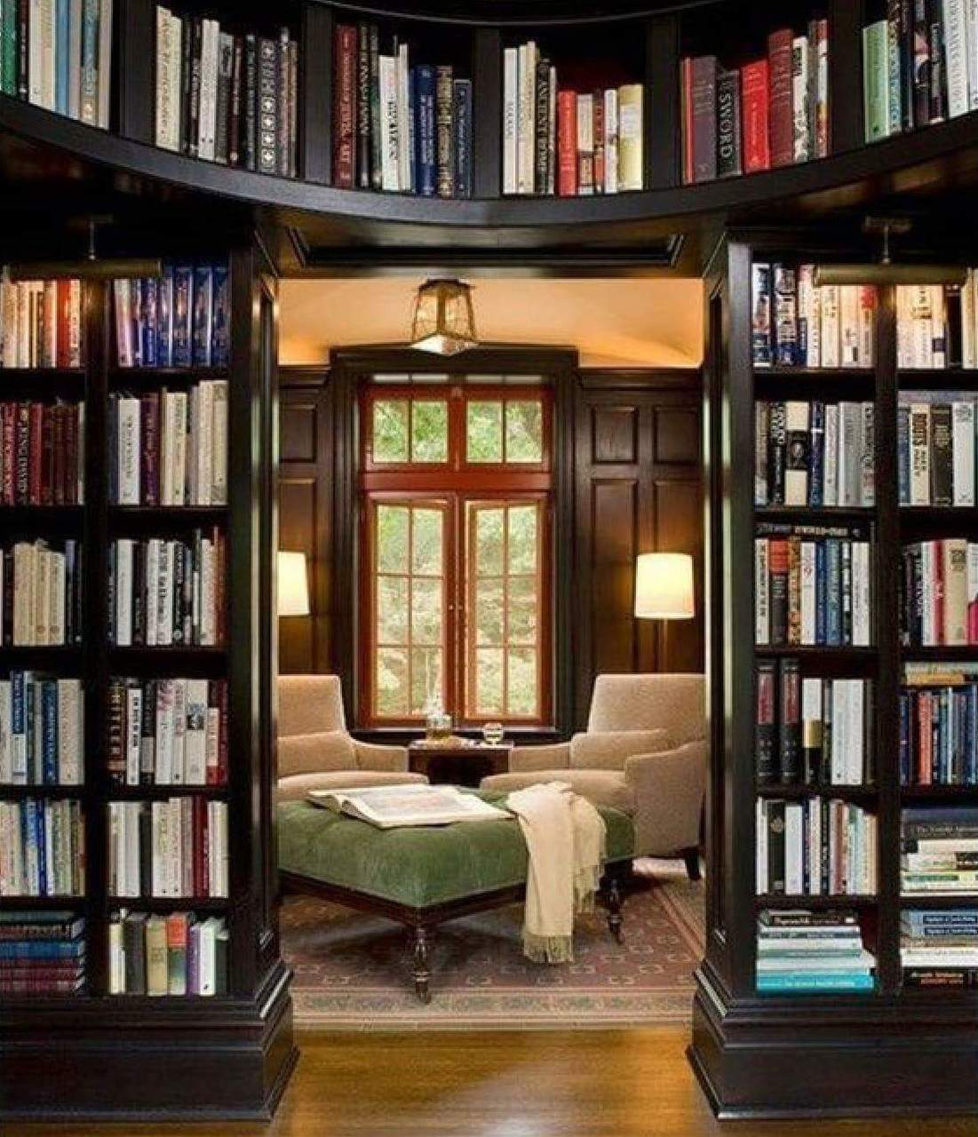 Home library decorating ideas brucall.com.