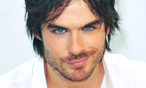actor, beard, eyes, handsome, ian somerhalder