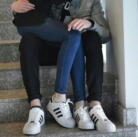 adidas, boy, couple, cute, girl