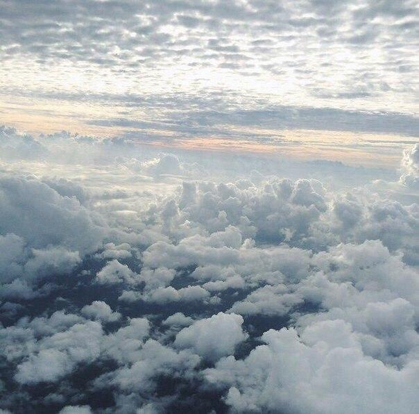airplane, amazing, clouds, fly, sky