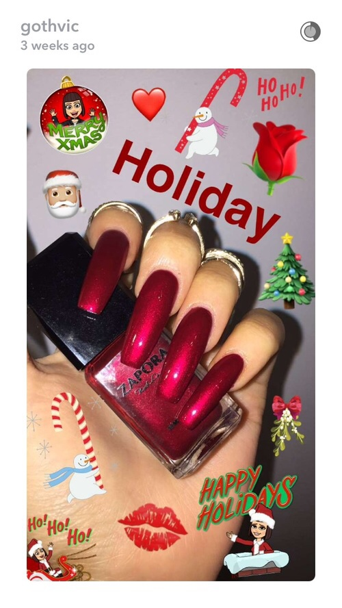 long nails, matte, nails art, nails polish, red nails