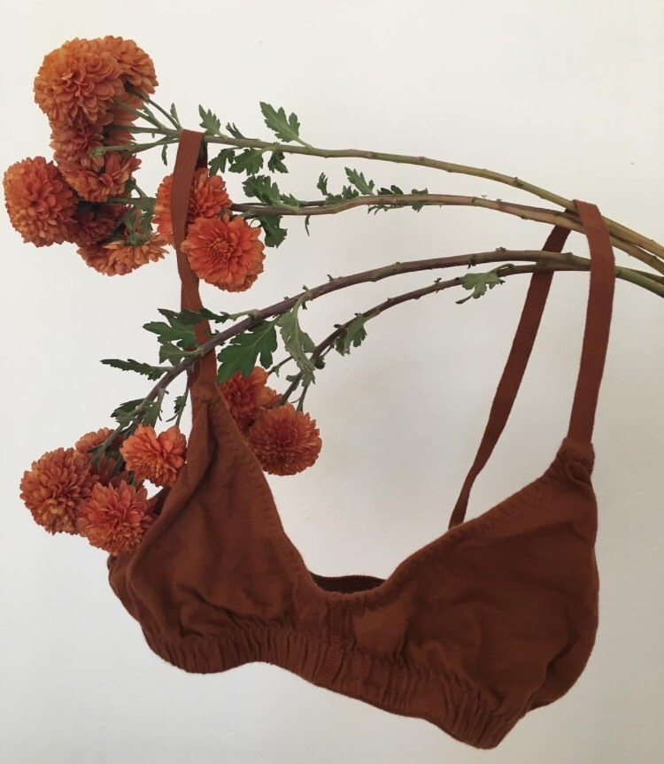 art, bralette, indie fashion, red flowers, style