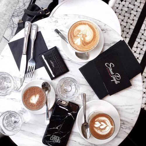 amazing, black, brunch, cappuccino, case