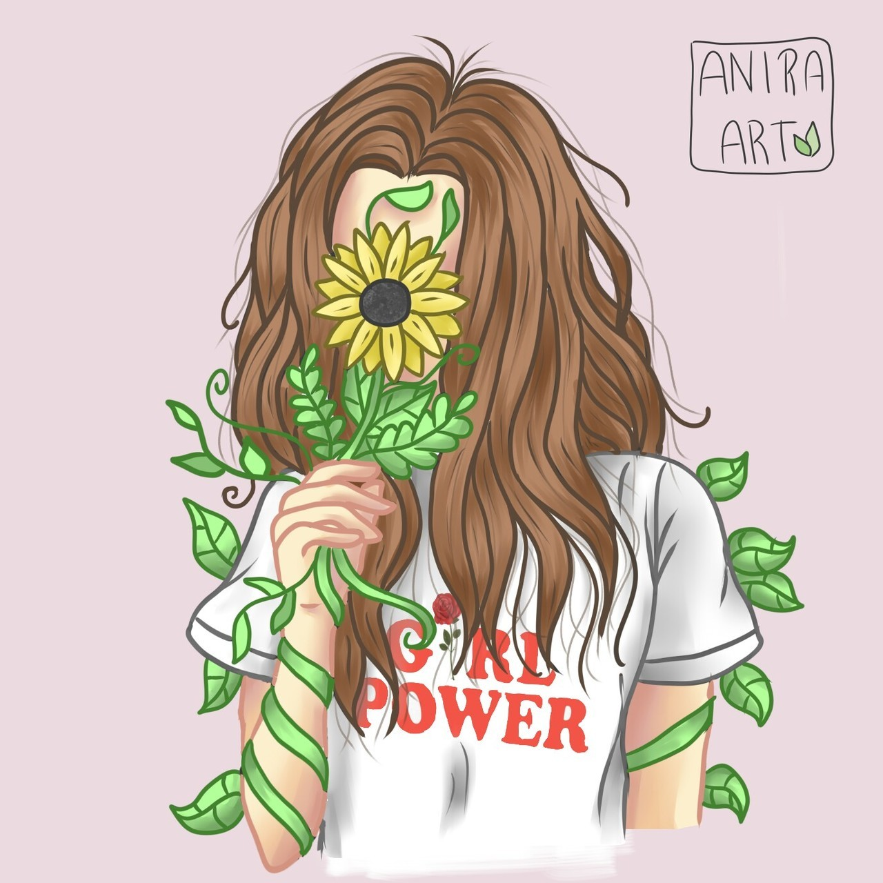 art, digital art, draw, drawing, flowers