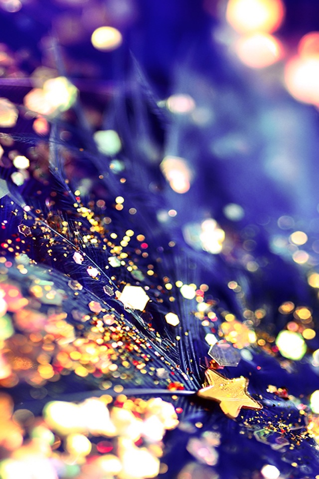 background, blue, feather, glitter, gold