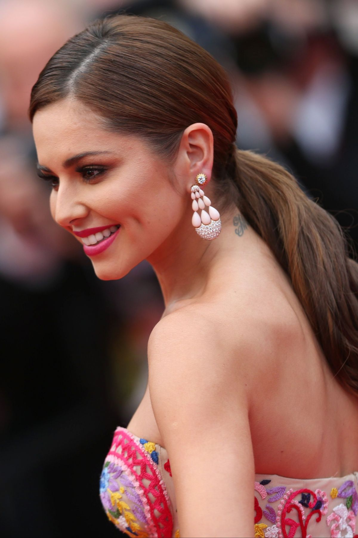 cheryl cole, hairstyle, lips, singers, smile