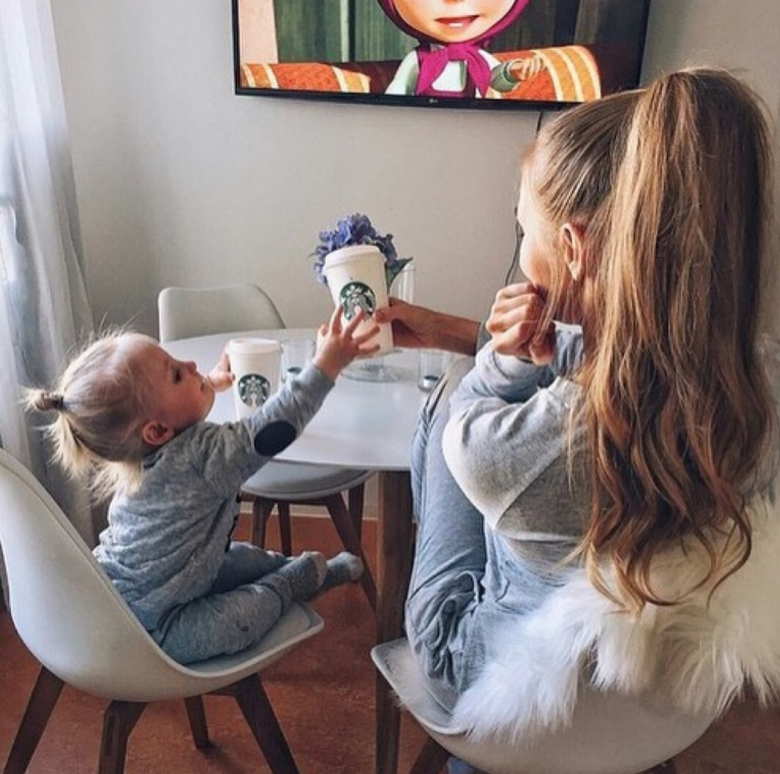 baby, coffee, cutie, dormi, family