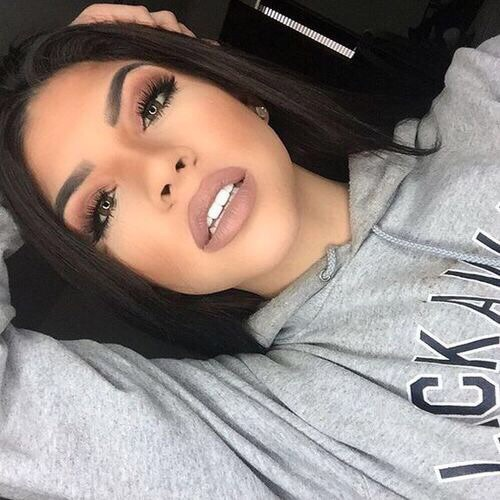 beautiful, beauty, brown lips, girl, gorgeous