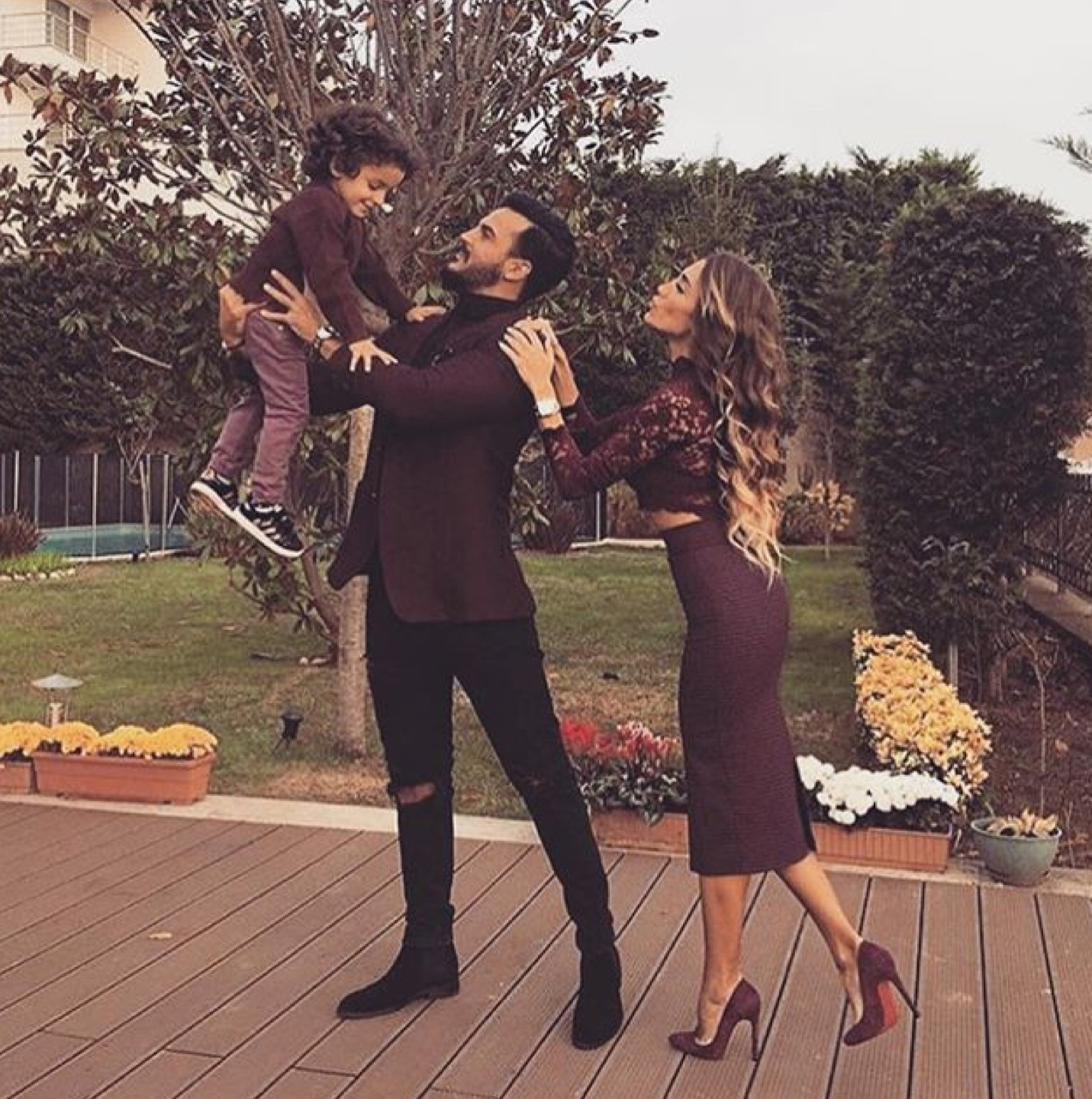 baby, couple, dad, family, goals