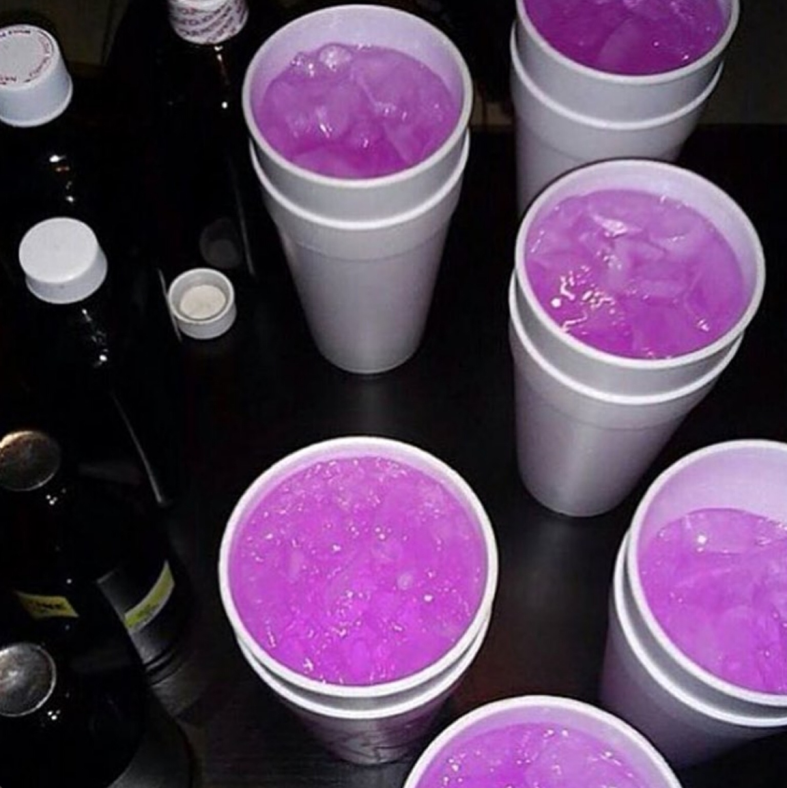 cyber, drink, purple, trill, soft ghetto