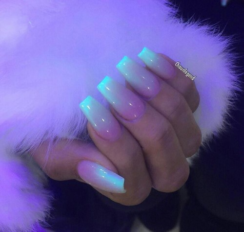 light, nails, nails art, nails polish, neon