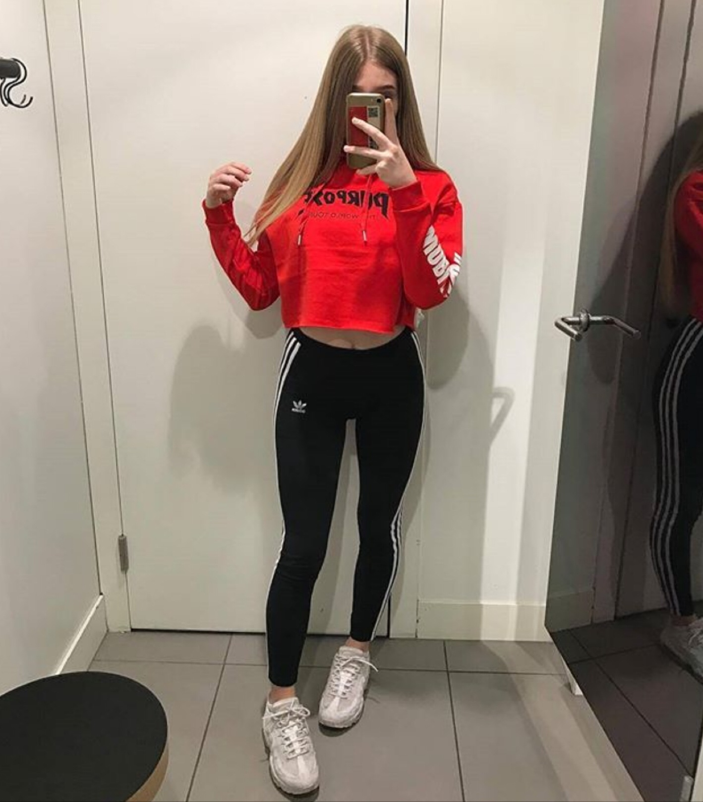 adidas, fashion, girly, ootd, outfit