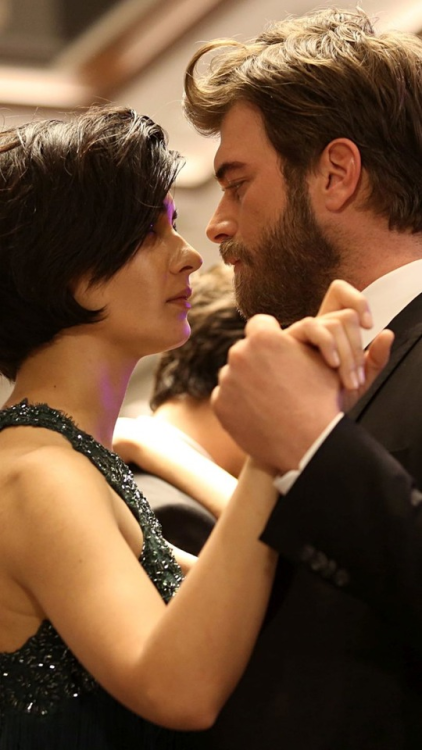 couple, kivanc tatlitug, love, pretty, romantic