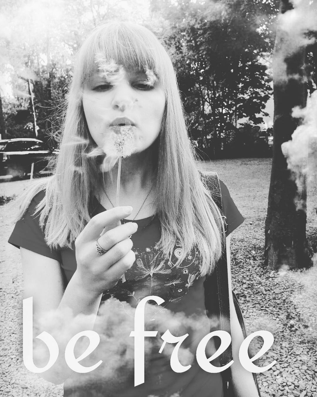 be free, black and white, blonde, bw, free