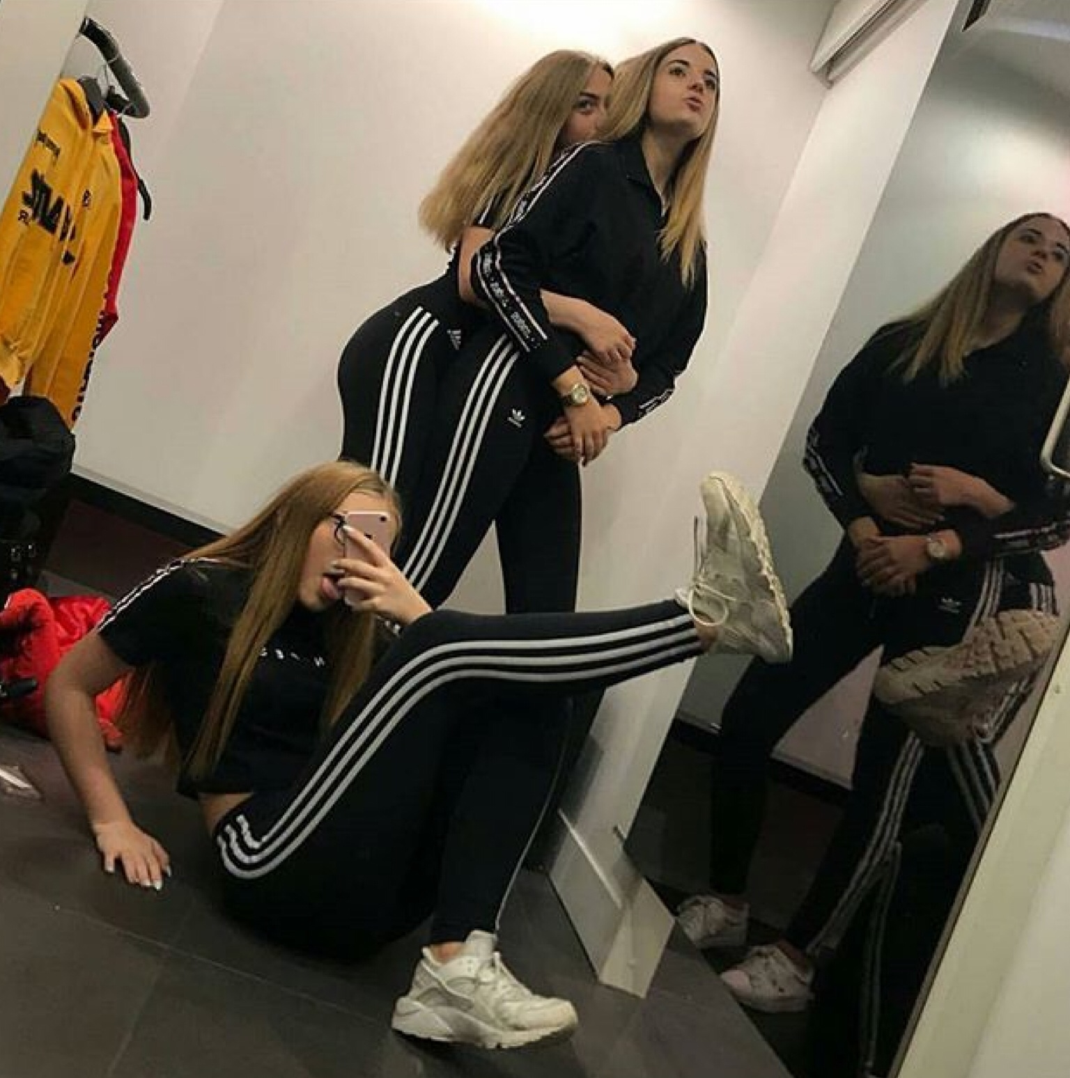 adidas, friends, friendship, funny, girls