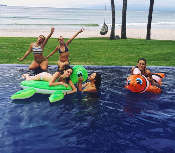 holiday, nemo, pool, selena, selena gomez