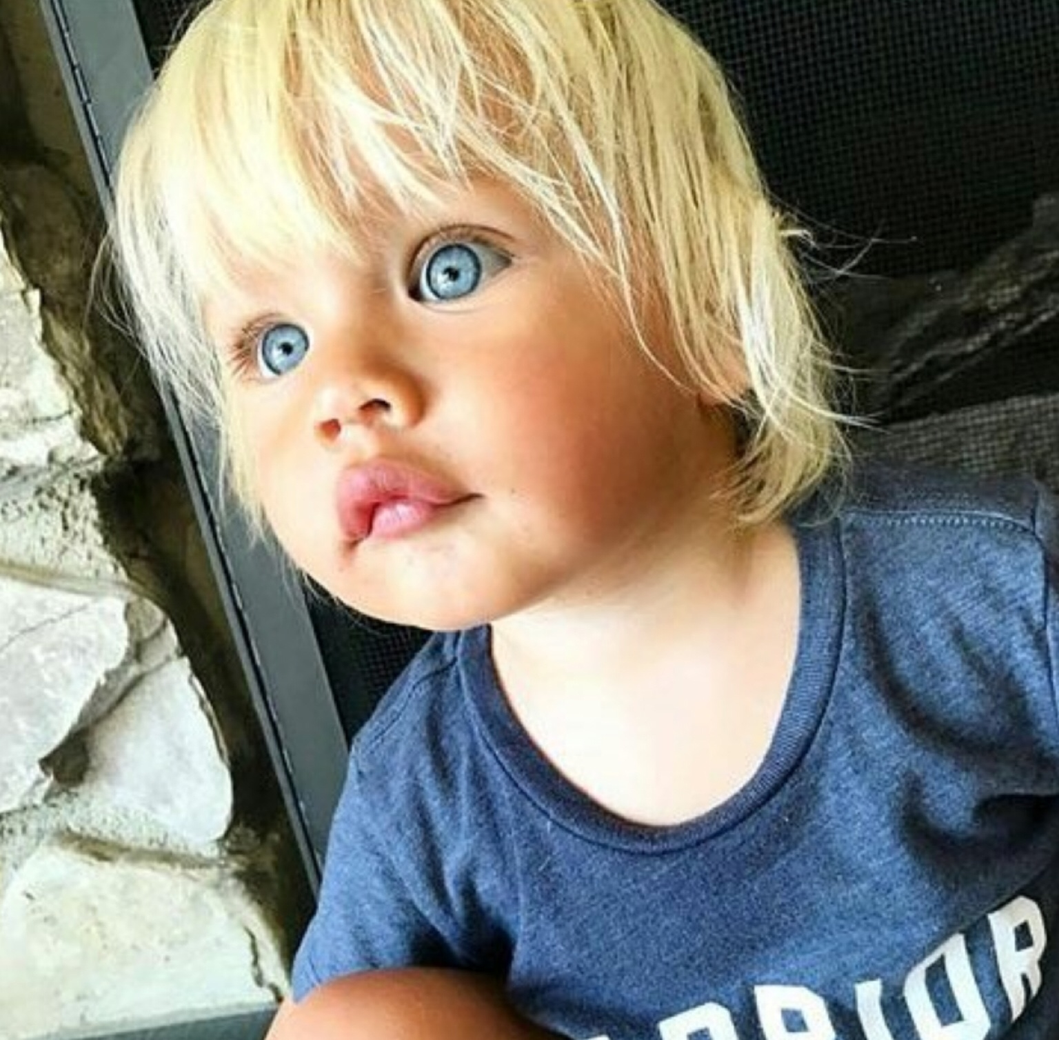 baby, blonde, blue eyes, family, gorgeous