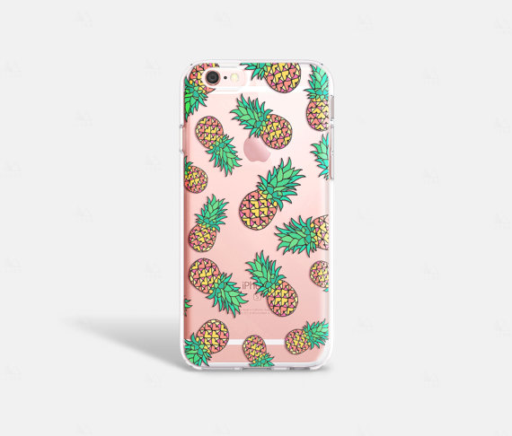 premium selection b30f8 84f64 Pineapple iPhone 7 Case Clear images on Favim.com