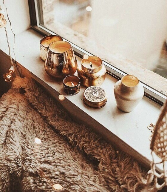 autumn, candle, candles, cozy, fall