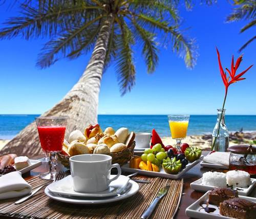 fruit, holidays, lunch, maldives, ocean