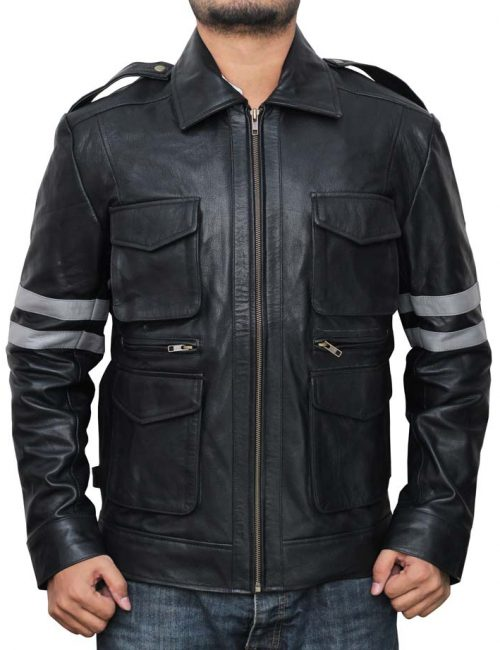 black, jacket, leather, saleonleather, evil6