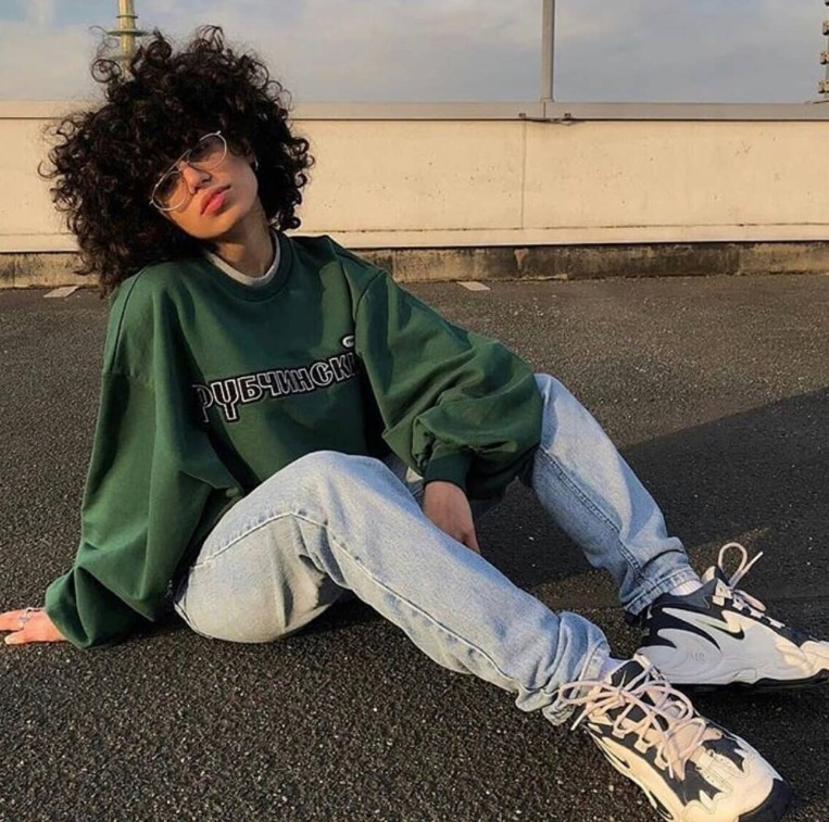 90s, beauty, curly, girl, girly