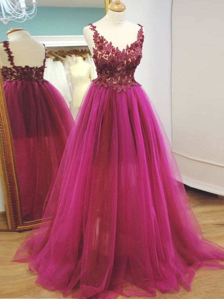 fashion, girls, tulle, Gorgeous Prom Dresses, Prom Dresses 2018