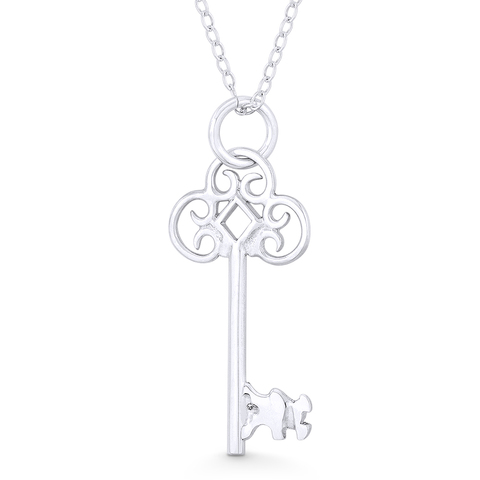 ankh, jewelry, necklace, pendant, sterling silver